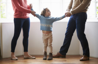 What is the standard for visitation with the children?